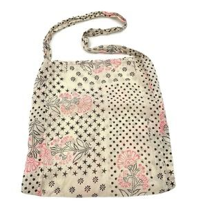 Free People Reusable Shopping Beach Tote Bag